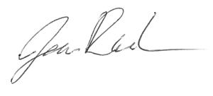 James signature
